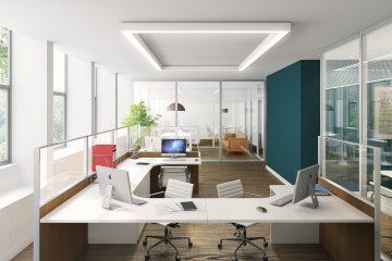 biuro z oknem